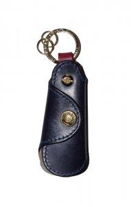 GLENROYAL グレンロイヤル SHOE HORN POCKET 2-TONE ポケットシューホーン(2トーン) DARK BLUE × BORDEAUX