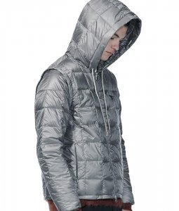 <img class='new_mark_img1' src='https://img.shop-pro.jp/img/new/icons7.gif' style='border:none;display:inline;margin:0px;padding:0px;width:auto;' />TAION EXTRA タイオン MENS HOODIE INNER DOWN SET メンズフードインナーダウンセット GRAY