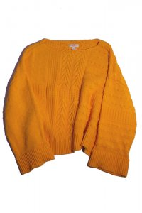 DEMYLEE デミリー 20SS LYAN SWEATER  ORANGE