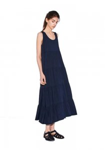 DEMYLEE デミリー 20SS Gwenyth Dress  NAVY
