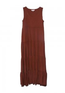 DEMYLEE デミリー 20SS Gwenyth Dress  BROWN