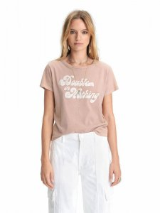 MOTHER DENIM マザーデニム THE LITTLE GOODIE GOODIE  Double Or Nothing PINK