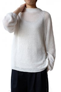 DEMYLEE デミリー 20SS POLLIE SWEATER  OFF WHITE