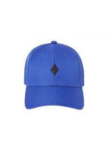 MARCELO BURLON マルセロ ブロン CROSS BASEBALL CAP BLUE BLACK BLUE BLACK