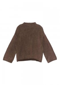 DEMYLEE デミリー 20-21A/W AGARA  SWEATER  BROWN