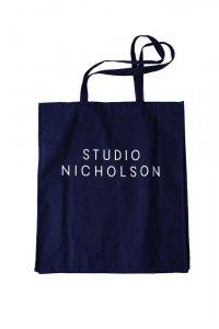 STUDIO NICHOLSON スタジオニコルソン THE LARGE TOTE NAVY