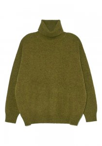 DEMYLEE デミリー 20-21A/W AITANA TURTLENECK SWEATER OLIVE