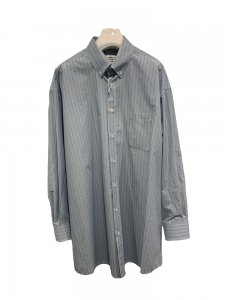 Maison Margiela Lady's メゾンマルジェラ レディース ボタンダウンオーバーサイズシャツ 001F BLUE