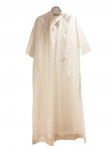 UNION LAUNCH ユニオンランチ フィンクスシャンブレードレス WHITE