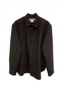 UNION LAUNCH ユニオンランチ フレンチリネンシャツ BLACK
