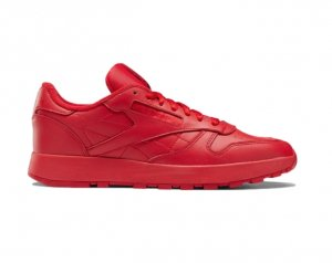 <img class='new_mark_img1' src='https://img.shop-pro.jp/img/new/icons7.gif' style='border:none;display:inline;margin:0px;padding:0px;width:auto;' />MAISON MARGIELA X REEBOK CLASSIC LEATHER TABI SHOES RED(メゾンマルジェラ×リーボック)