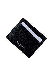 Maison Margiela メゾン マルジェラ カードケース P0399 シボレザー T8013 BLACK