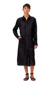 EQUIPMENT エキプモン LORAND DRESS BLACK