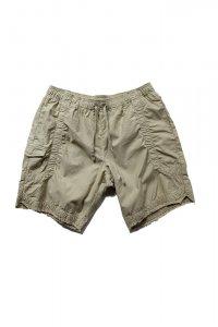 JOHN ELLIOTT ジョンエリオット Cotton Poplin Frame Shorts Desert