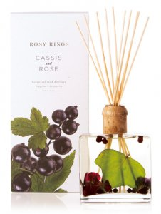 ROSY RINGS ボタニカルリードディフューザー レモンブロッサム&ライチ