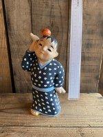 兵庫・葛畑土人形 りんご童子(34)
