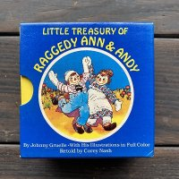 <img class='new_mark_img1' src='https://img.shop-pro.jp/img/new/icons1.gif' style='border:none;display:inline;margin:0px;padding:0px;width:auto;' />LITTLE TREASURY OF RAGGEDY ANN & ANDY