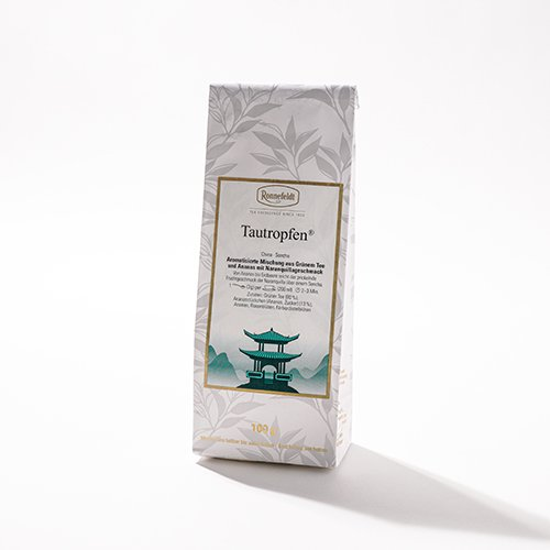 【Ronnefeldt】TAUTROPFEN ドゥードロップ BASE CHINESE GREEN TEA