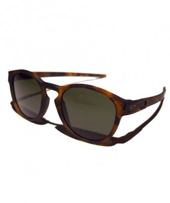 -OAKLEY-LATCH [Matte Brown Tortoise w/ Dark Gray]