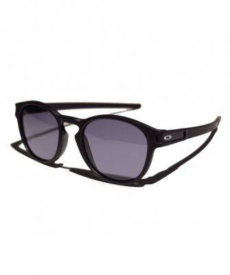 -OAKLEY-LATCH [Matte Black w/ Gray]