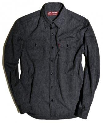 -Hide&Seek-Chambray L/S Shirt(16aw)