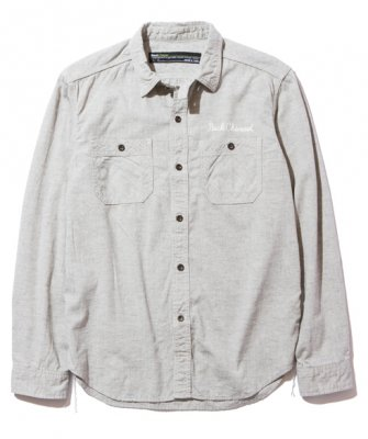 <img class='new_mark_img1' src='https://img.shop-pro.jp/img/new/icons24.gif' style='border:none;display:inline;margin:0px;padding:0px;width:auto;' />=-BackChannel-WORK SHIRT(17FW)