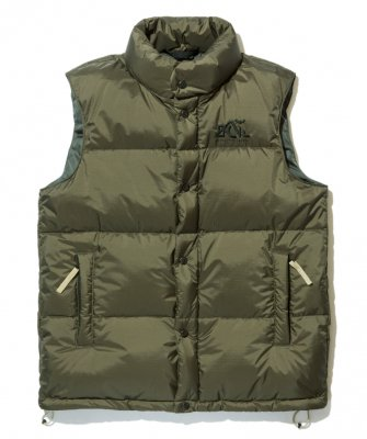 -BackChannel-BACK CHANNEL✖NANGA DOWN VEST(17FW)