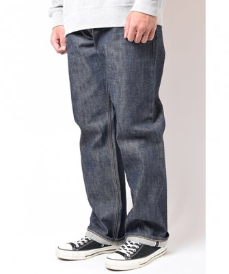 =-BackChannel-NON WASH STRAIGHT DENIM(17FW)