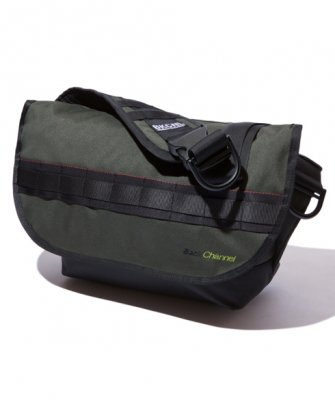 =-BackChannel-BackChannel × BULLET CORDURA MESSENGER BAG(17FW)