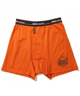 =-BackChannel-OIL LOGO UNDERWEAR