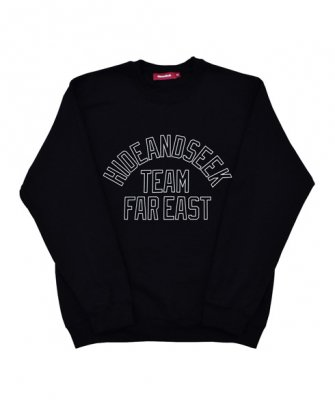 =-Hide&Seek-Team Far East SWEAT Shirts