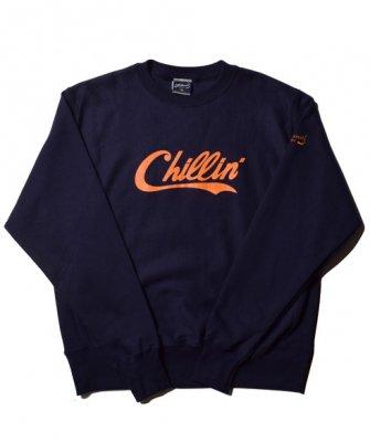 -PRILLMAL-Chillin' Errday!!  : CREW NECK SWEAT