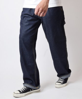 =-BackChannel-LIGHT OZ DENIM PAINTER PANTS(18SS)