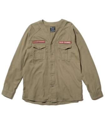 =-BackChannel-SCOUT SHIRT(18SS)