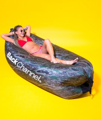 =-BackChannel-BACKCHANNEL×COTTY BAG INFLATABLE SOFA
