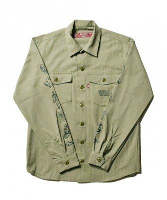 -Hide&Seek- Fatigue L/S Shirt(18ss)