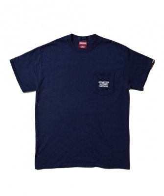 -Hide&Seek-HARD CORE CAL Pocket S/S Tee(18ss)