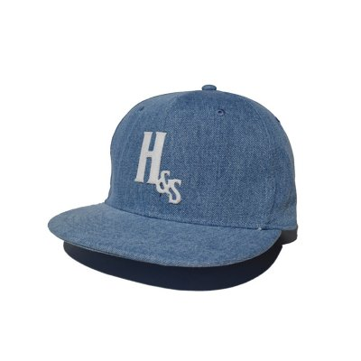 -Hide&Seek- Denim Baseball CAP