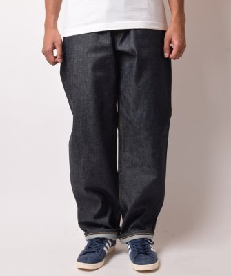 -BackChannel-NON WASH BAGGY DENIM