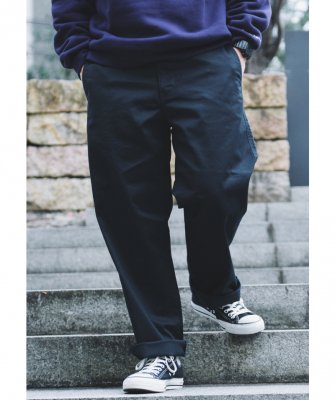 -BackChannel-WIDE CHINO PANTS