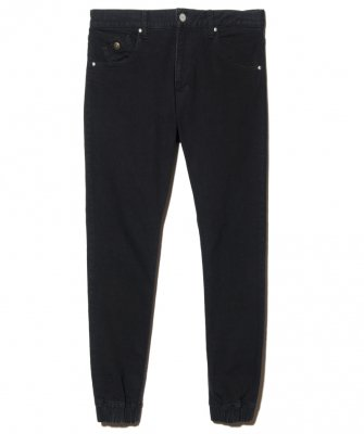 -BackChannel-DENIM JOGGER PANTS