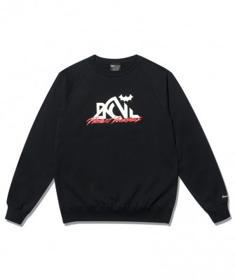 -BackChannel-OUTDOOR LOGO RAGLAN CREW SWEAT