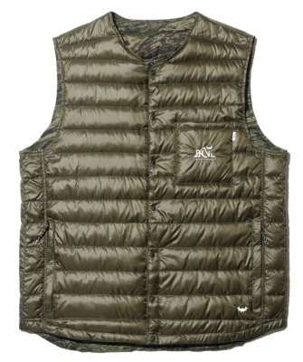 -BackChannel-BACK CHANNEL × NANGA® REVERSIBLE DOWN VEST