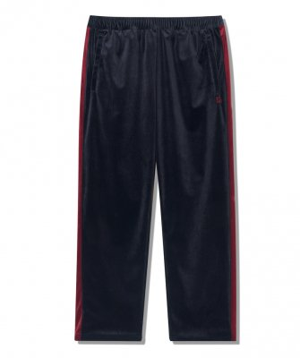 -BackChannel-VELOUR TRACK PANTS (18FW)