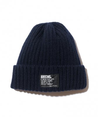 -BackChannel-SHETLAND WOOL KNIT CAP
