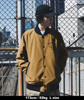-Back Channel-STADIUM JACKET