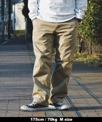 -Back Channel-CHINO PANTS