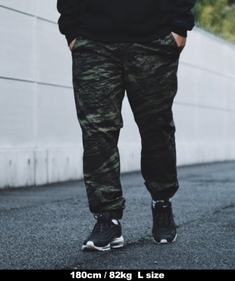 -BackChannel-GHOSTLION CAMO JOGGER PANTS