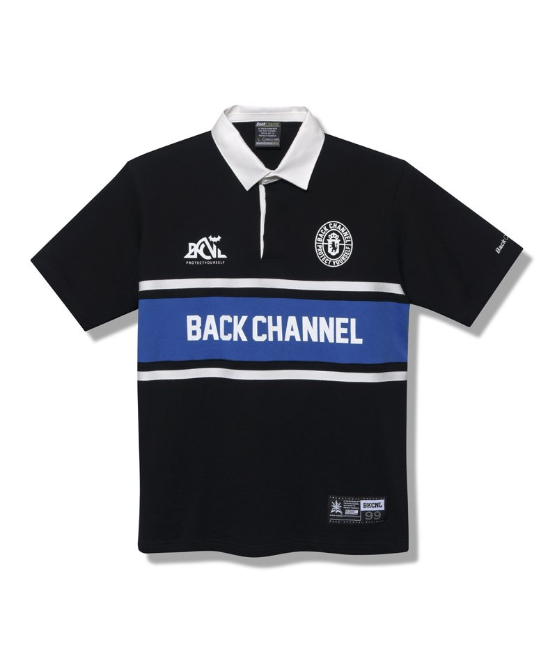 -Back Channel-RUGBY H/S SHIRT