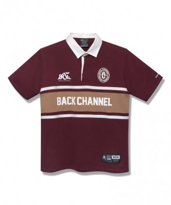 <img class='new_mark_img1' src='https://img.shop-pro.jp/img/new/icons14.gif' style='border:none;display:inline;margin:0px;padding:0px;width:auto;' />-Back Channel-RUGBY H/S SHIRT